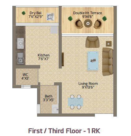 Mehat Neo Residency, Mumbai - Floor Plan