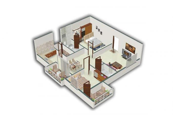 Satwi Thavil, Bangalore - Floor Plan