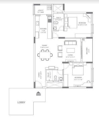 Skav Ohana, Bangalore - Floor Plan
