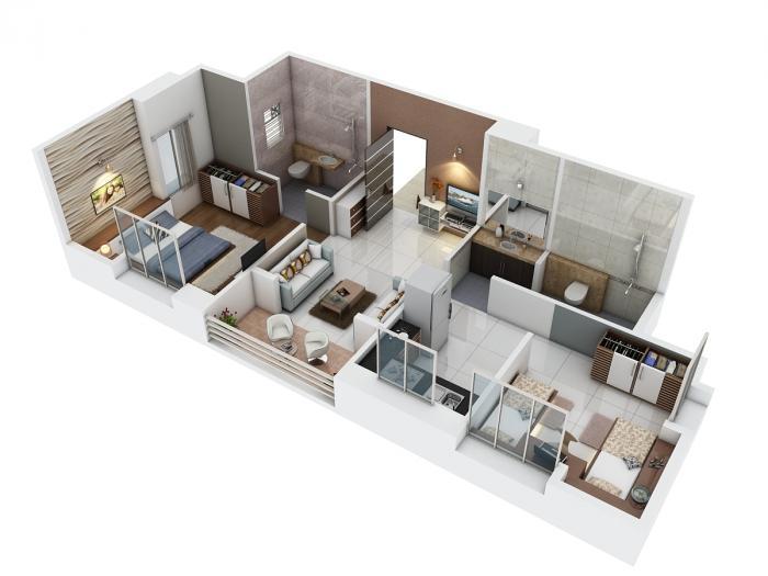 Badhekar Vinayak 15 Society, Pune - Floor Plan