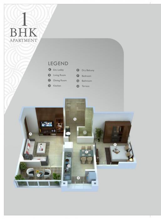 Sukhwani Scarlet, Pune - Floor Plan