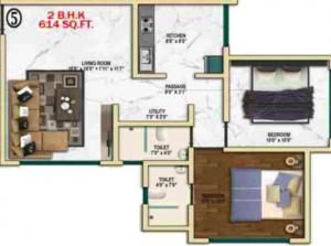 Bajaj Shubhada, Mumbai - Floor Plan