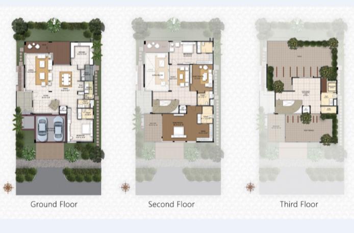 Ncc Misty woods, Bangalore - Floor Plan