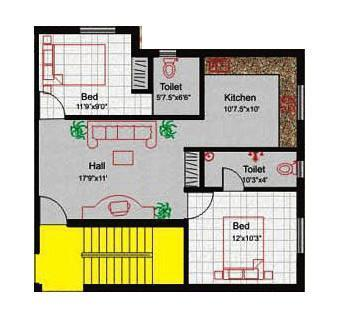 Identity Strawberry, Chennai - Floor Plan