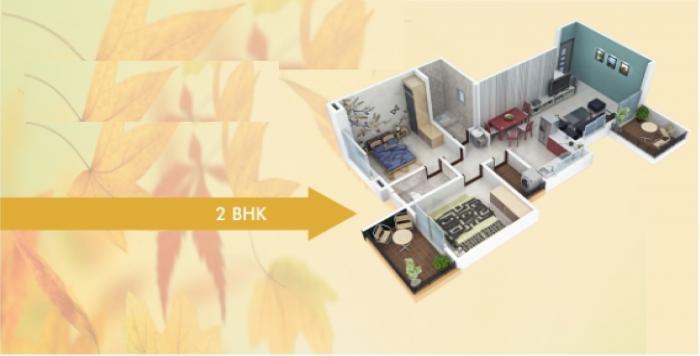 S N Pote Kinjal Pristine, Pune - Floor Plan