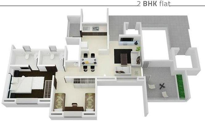 Chordia Icon Linera, Pune - Floor Plan