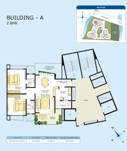 Marvel Azure, Pune - Floor Plan