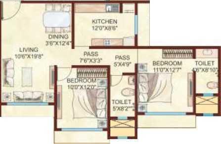 Kabra Argentum, Mumbai - Floor Plan