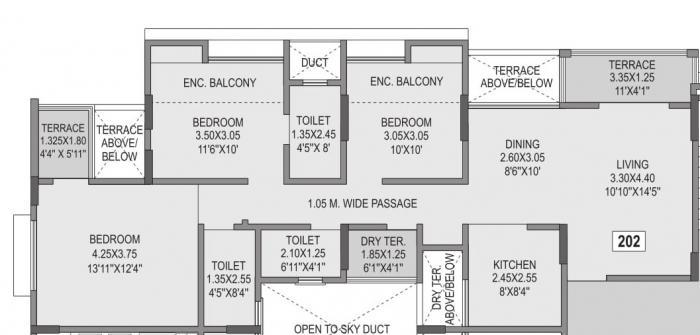 Anshul Casa, Pune - Floor Plan