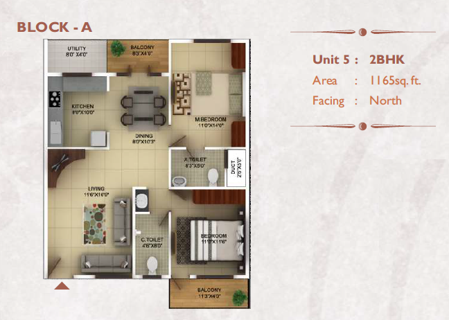 TG Epitome, Bangalore - Floor Plan