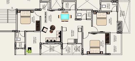 Runal Elanza, Pune - Floor Plan