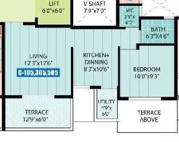 Crystal Homes, Pune - Floor Plan