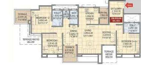 Prayeja Pearl, Pune - Floor Plan