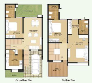 Arun Excello Temple Green, Chennai - Floor Plan