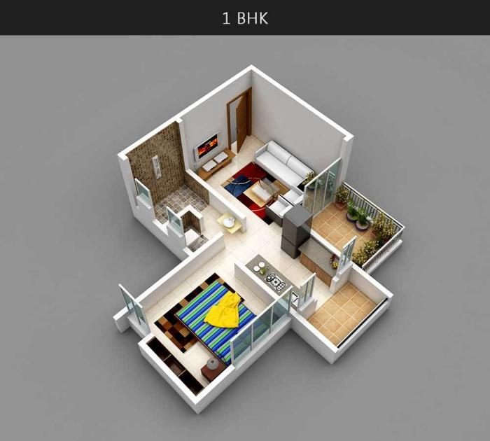 Surabhi Iconica, Pune - Floor Plan