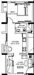 Jains West Minster, Chennai - Floor Plan