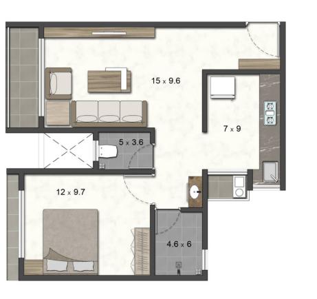 Dbafna Orion, NaviMumbai - Floor Plan