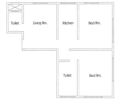 Nine Hazel Avenue, Mumbai - Floor Plan