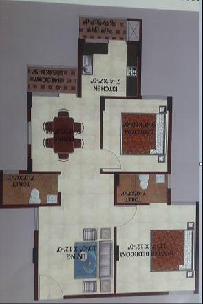 Adhya Madhura, Bangalore - Floor Plan