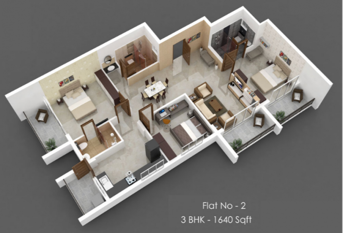 Inland Apeiron, Mangalore - Floor Plan