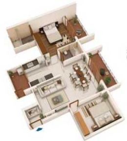 Nidhi Land Vrindavan, Mangalore - Floor Plan