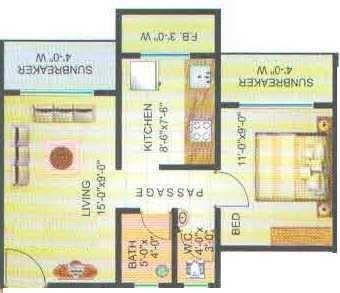 Sarosh Residency, Mumbai - Floor Plan
