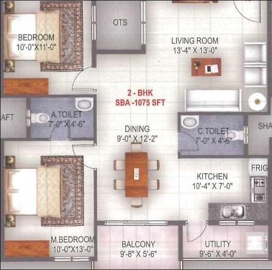 SG Enclave, Bangalore - Floor Plan