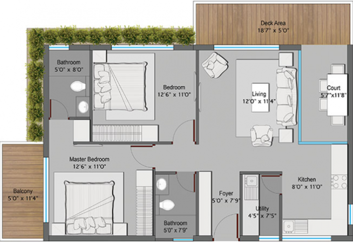 Axis Vanam, Bangalore - Floor Plan