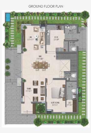 GKRS Palacio, Hyderabad - Floor Plan
