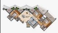 Karmaa Galaxy, Nashik - Floor Plan