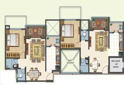Sheth Beverly Hills, Pune - Floor Plan