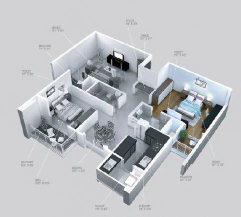 Birla Apple Spire, Bangalore - Floor Plan