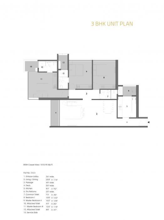Ashapura F Residences, Mumbai - Floor Plan