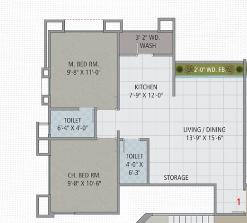 Sangini Swaraj, Surat - Floor Plan