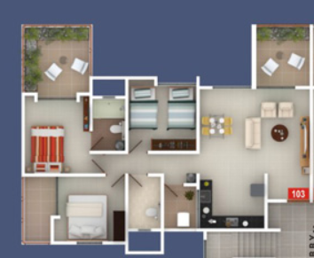 Gagan Lawish Phase II, Pune - Floor Plan