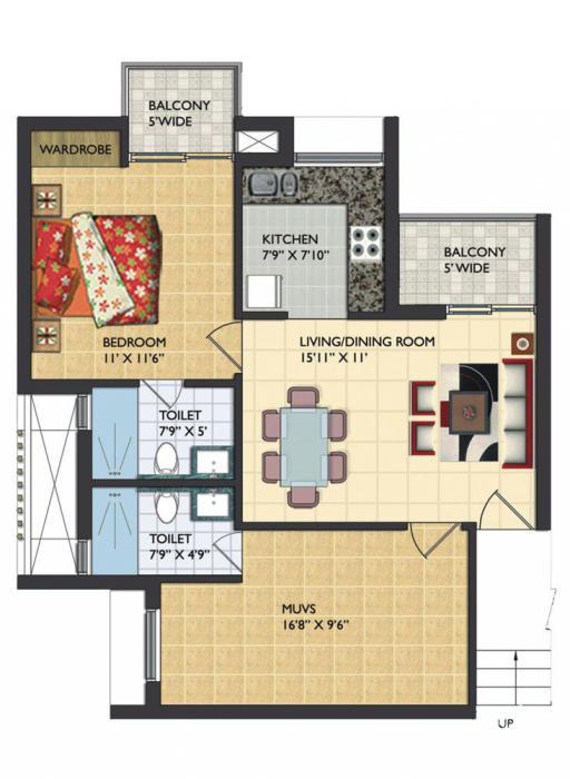 Assotech Windsor Court, Noida - Floor Plan
