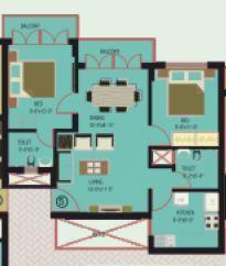 Land Traders Aashna, Mangalore - Floor Plan