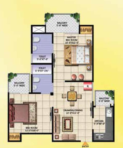 Techman Moti City, Ghaziabad - Floor Plan
