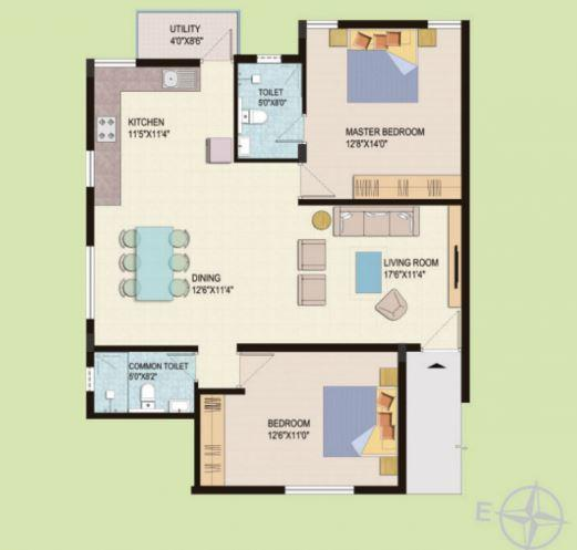 Live Spacess Sunshine, Bangalore - Floor Plan