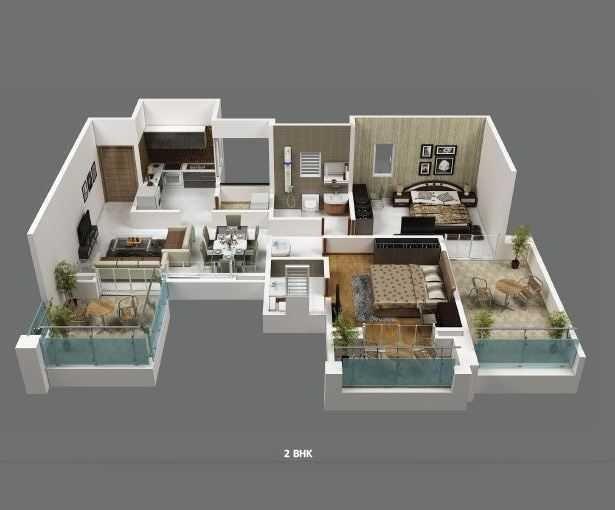 Eklavya Ekaika, Pune - Floor Plan