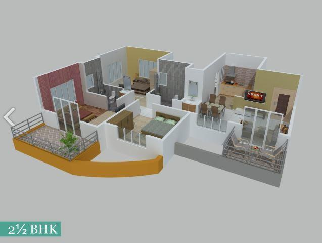 Sukhwani Pacific, Pune - Floor Plan