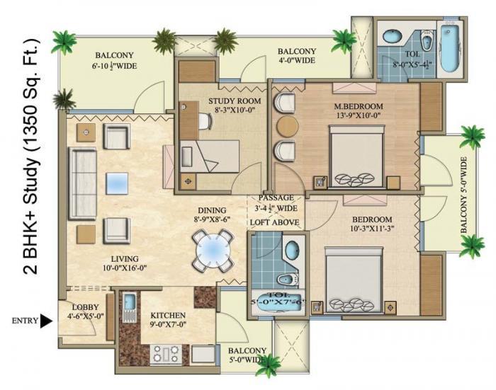 Rani Aakriti Shantiniketan, Noida - Floor Plan