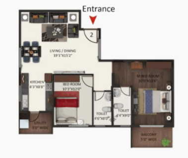 Anand Aster, Bangalore - Floor Plan