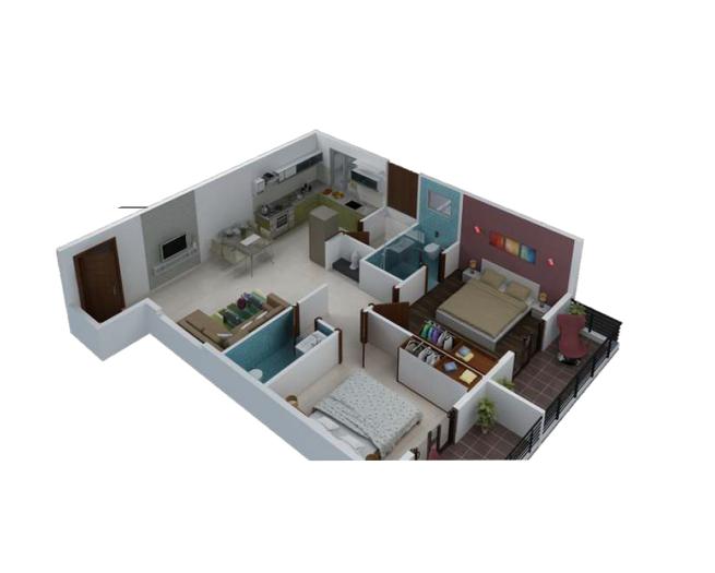 Sai Kalyan Winst, Bangalore - Floor Plan
