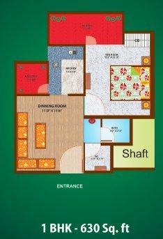 Ganpati JR Village II, Ghaziabad - Floor Plan