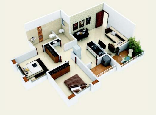 Ashtavinayak City, Pune - Floor Plan