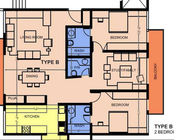 Mythreyi Aikya, Bangalore - Floor Plan