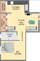 Minerva Spring Dale Fort, Chennai - Floor Plan