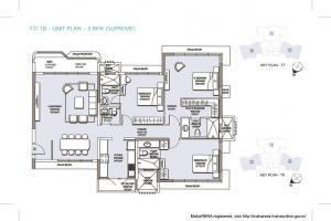 L&T Emerald Isle, Mumbai - Floor Plan