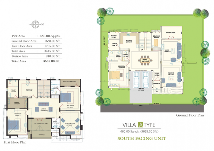 Vision Avenues Infiniti Homes, Hyderabad - Floor Plan
